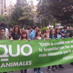 El partido PACMA veta a EQUO en la manifestación antitaurina del 16 de septiembre